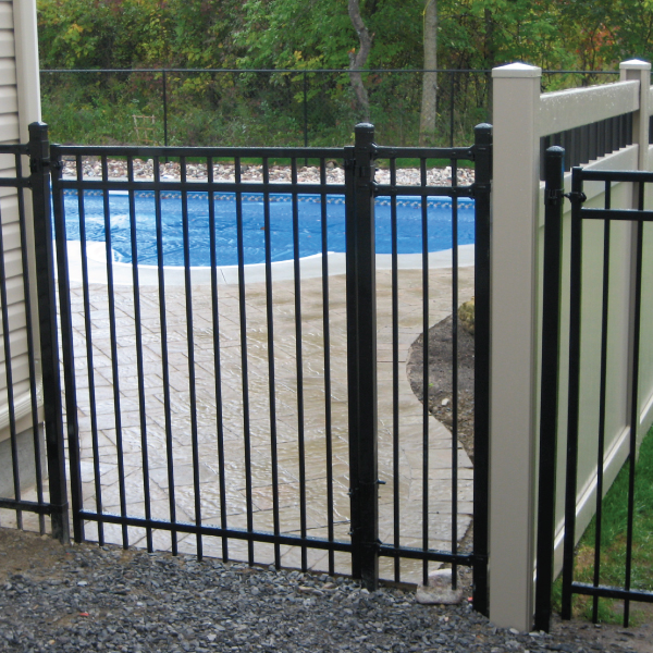 pool protection with iron fence ottawa