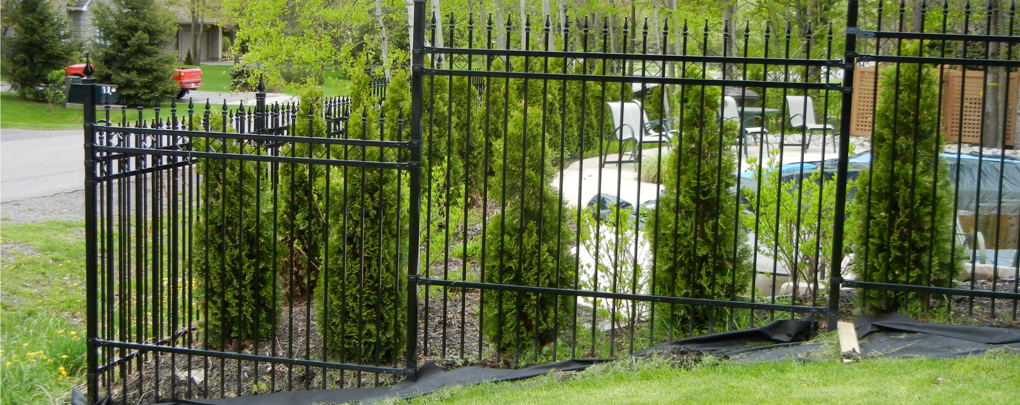 ottawa wrought iron fencing for pool safety